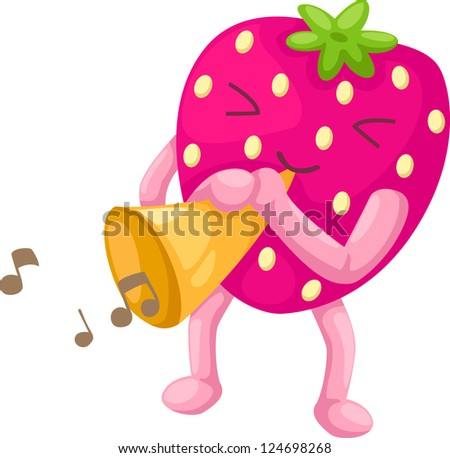 strawberries.JPG (EPS vector version id 111753320,format also available in my portfolio) - stock photo