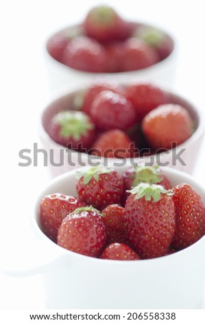 Strawberries Served In A Cocotte