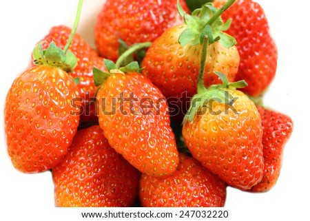 Strawberry fruit berry