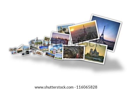 stream images - stock photo