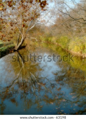 Stream in Kentucky - stock photo
