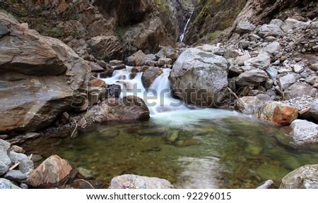 Stream Pool - stock photo