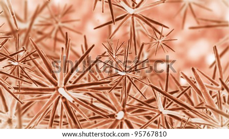 streaming cells - stock photo