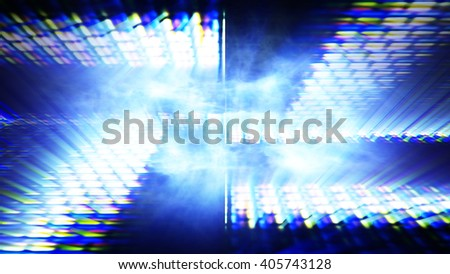 Streaming digital data abstraction 10835 from a series of futuristic tech imagery. - stock photo