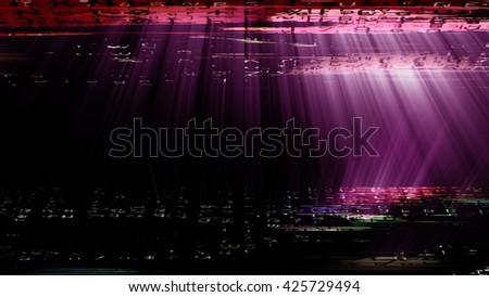 Streaming digital data abstraction 10882 from a series of futuristic tech imagery. - stock photo
