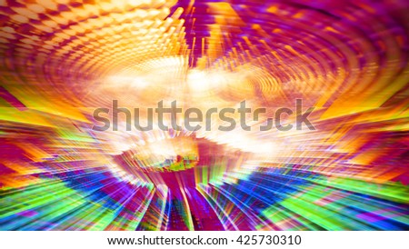 Streaming digital data abstraction 10877 from a series of futuristic tech imagery. - stock photo