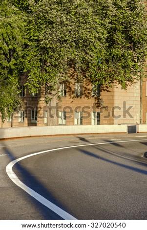 Street in Stockholm, Sweden - stock photo