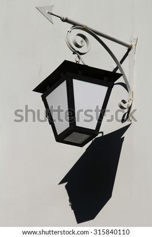 Street lamp in St. Petersburg - stock photo