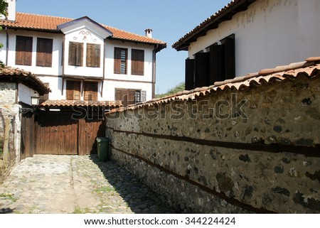 street of Zlatograd 18 - stock photo