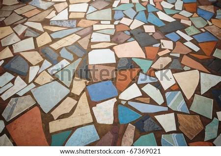 street texture - stock photo