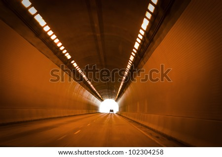 Street Tunnel - stock photo