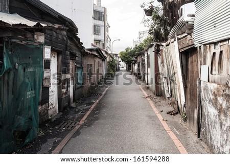 Street view - stock photo