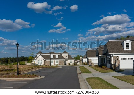 Street view - stock photo