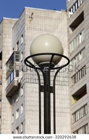 Streetlight in St. Petersburg - stock photo