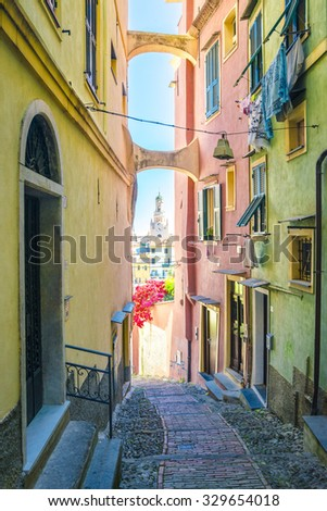 Streets of San Remo, Italy