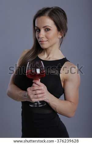 Strength of a wine flavor