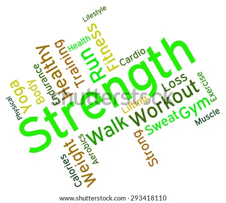 Word Strength Strength Words Meaning Robust