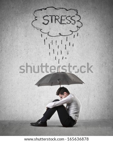 Stress - stock photo
