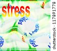 stress abstract background - stock photo