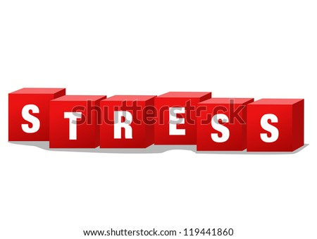 Stress disorder - stock photo