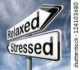 stress therapy and management helps in relaxation reduce tension and relief negativity become relaxed not stressed reduction of negative vibes destressing trough meditation and concentration - stock photo