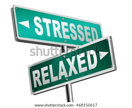 stress therapy and management helps in relaxation reduce tension and relief negativity become relaxed not stressed reduction of negative vibes distressing meditation and concentration 3D illustration