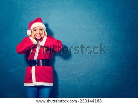 stressed - Santagirl - stock photo