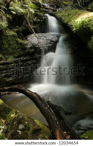 Strickland falls, Mount Wellington