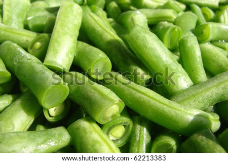 String bean - stock photo