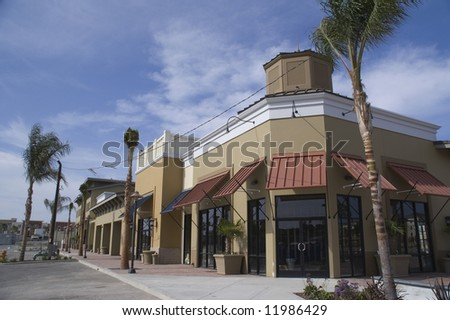 Strip Mall Construction