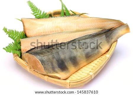 stripe Atka mackerel  - stock photo
