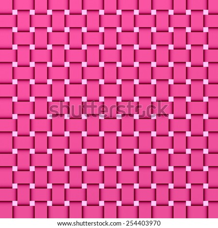 stripe pattern of woven colored