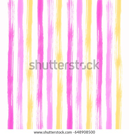 Stripe Pattern Wallpaper Abstract Art Beautiful Pink Yellow And White Background Design Card Lines Color