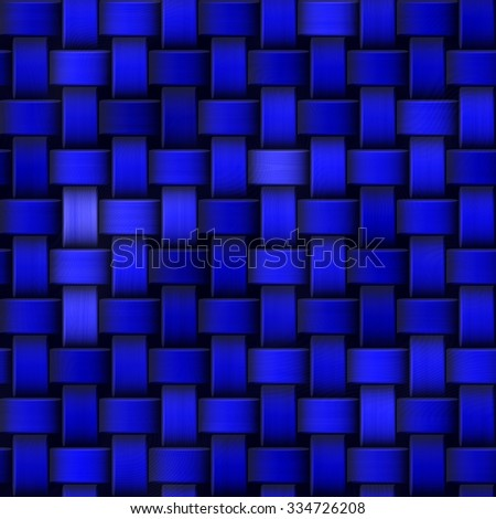 Striped background-blue