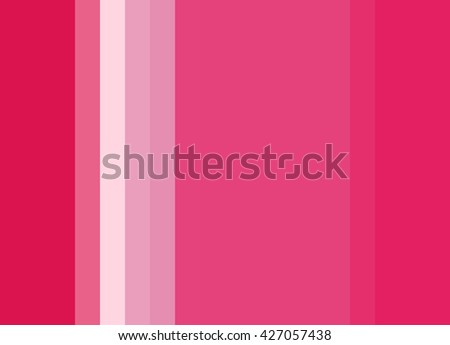 Striped Background in bright pinks/reds/white, vertical stripes, color palette background  - stock photo