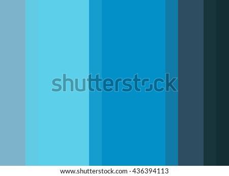 Striped Background In Bright Turquoise Aqua Blue Ultramarine Vertical Stripes