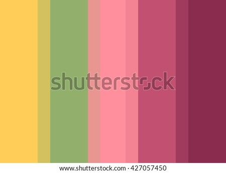 Striped Background in bright yellow/green/pink/fuchsia/magenta, vertical stripes, color palette background  - stock photo