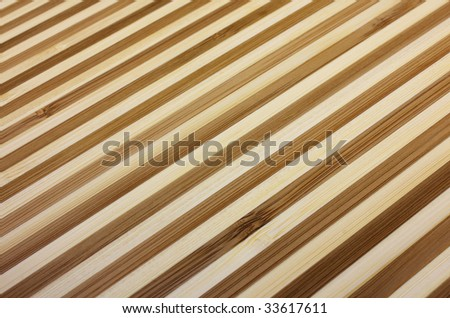 Striped bamboo background - stock photo