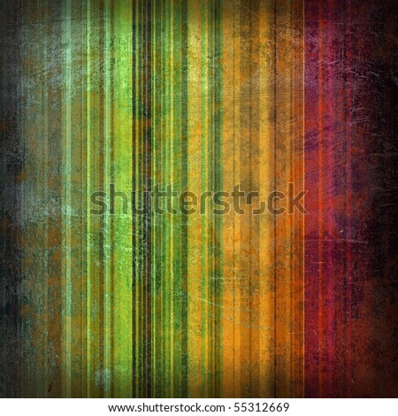 Striped dirty background with paint stains - stock photo
