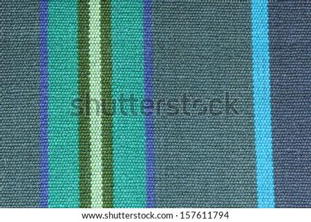 striped fabric texture - stock photo