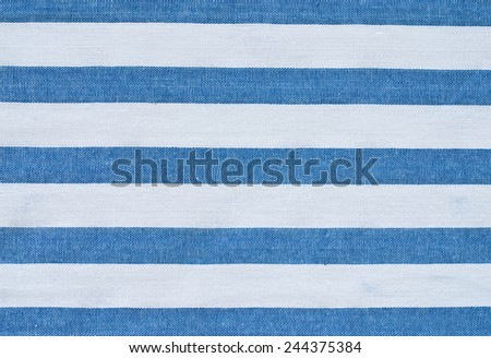 striped gingham textile - stock photo