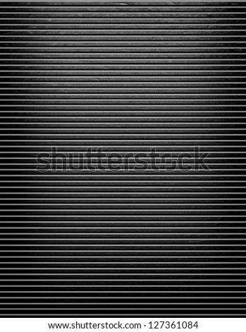 striped metal background - stock photo