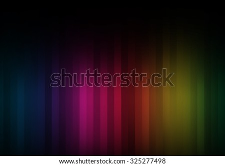 Striped Rainbow Room background.