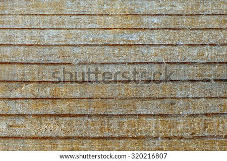 Striped structure of plywood / wood