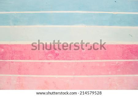 Striped Walls - stock photo