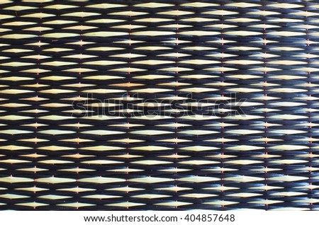 striped woven - stock photo