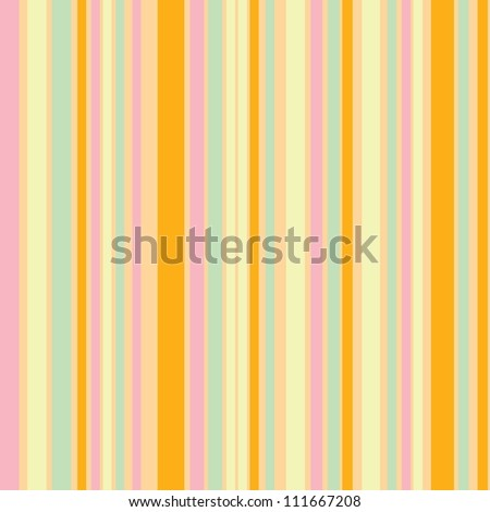 Stripes with pastel colors and orange