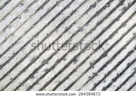 Stripped concrete texture