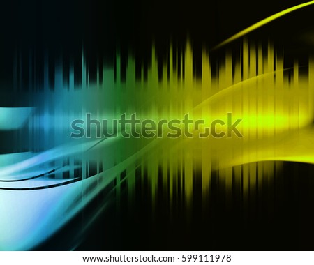 Strips abstrack background with lights