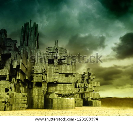 Stronghold 	 - stock photo